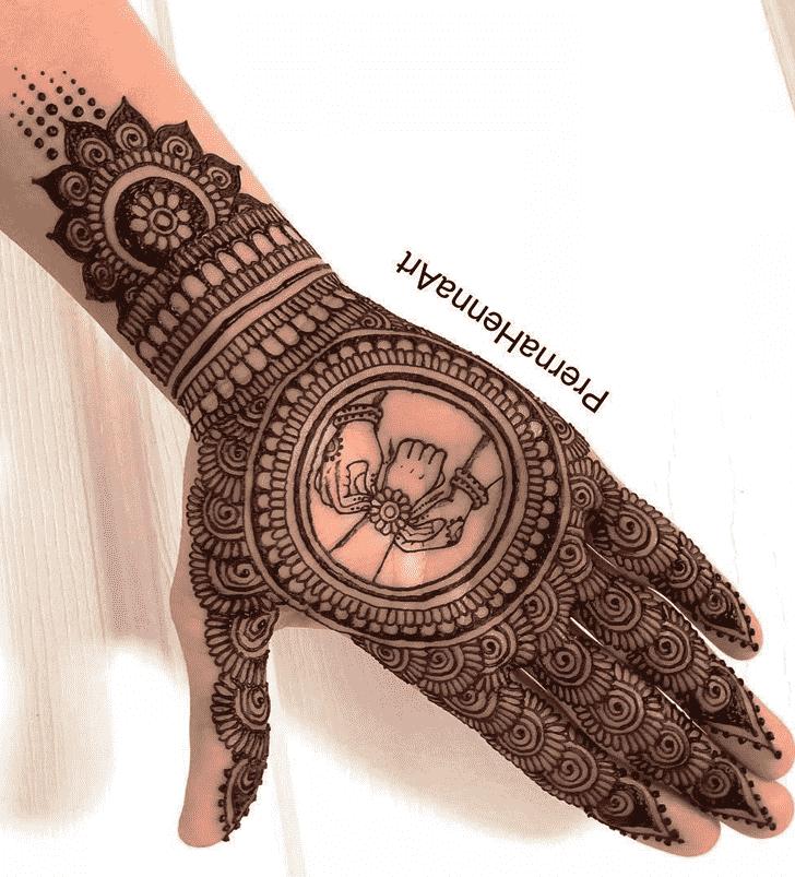 Gorgeous Rakhi Special Henna Design