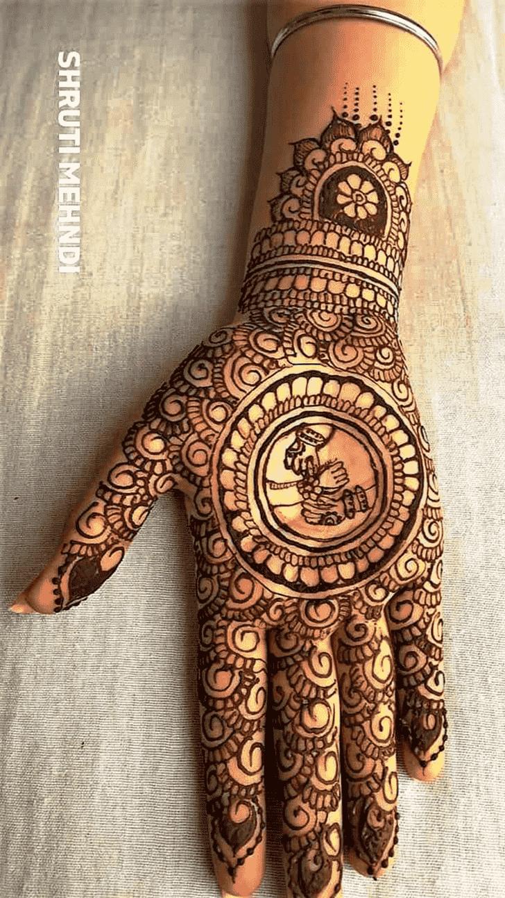 Inviting Rakhi Special Henna Design