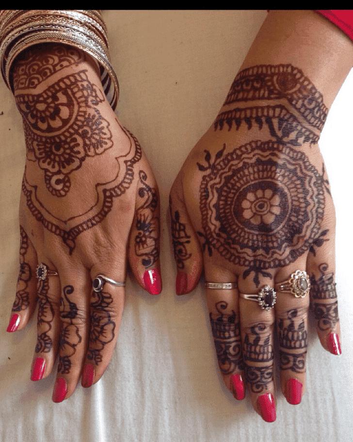 Adorable Ranchi Henna Design