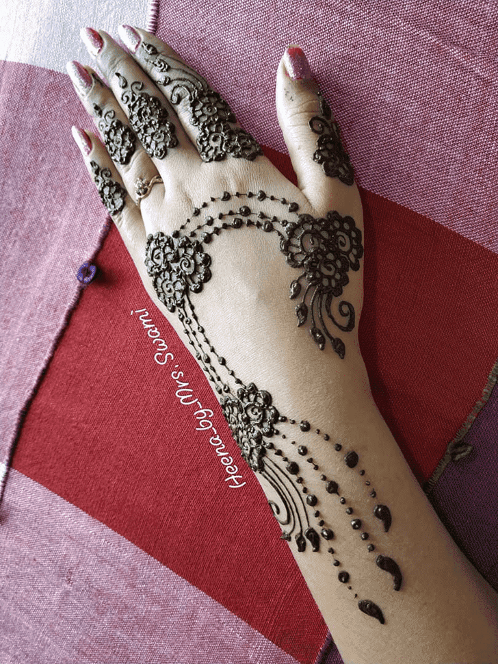 Beauteous Ranchi Henna Design