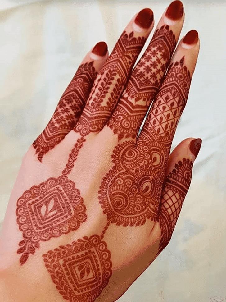 Bewitching Ranchi Henna Design