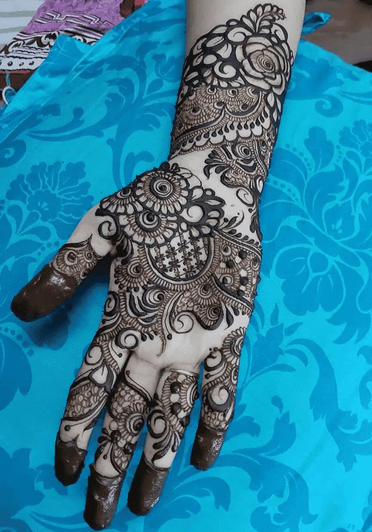 Charming Ranchi Henna Design