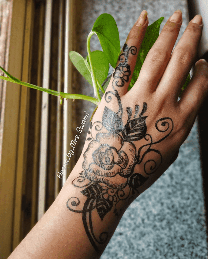 Enthralling Ranchi Henna Design