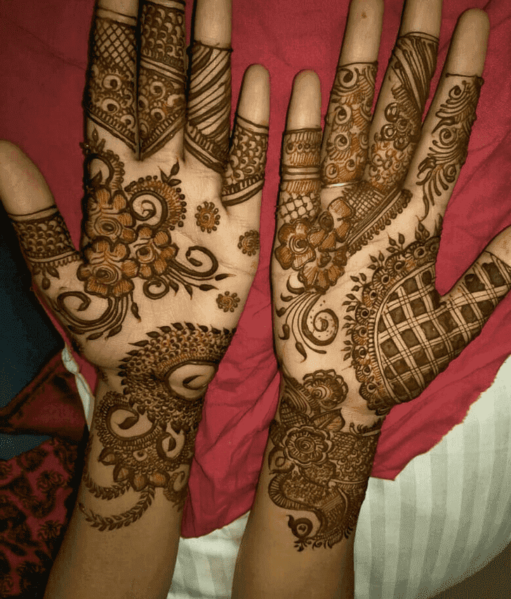 Enticing Ranchi Henna Design