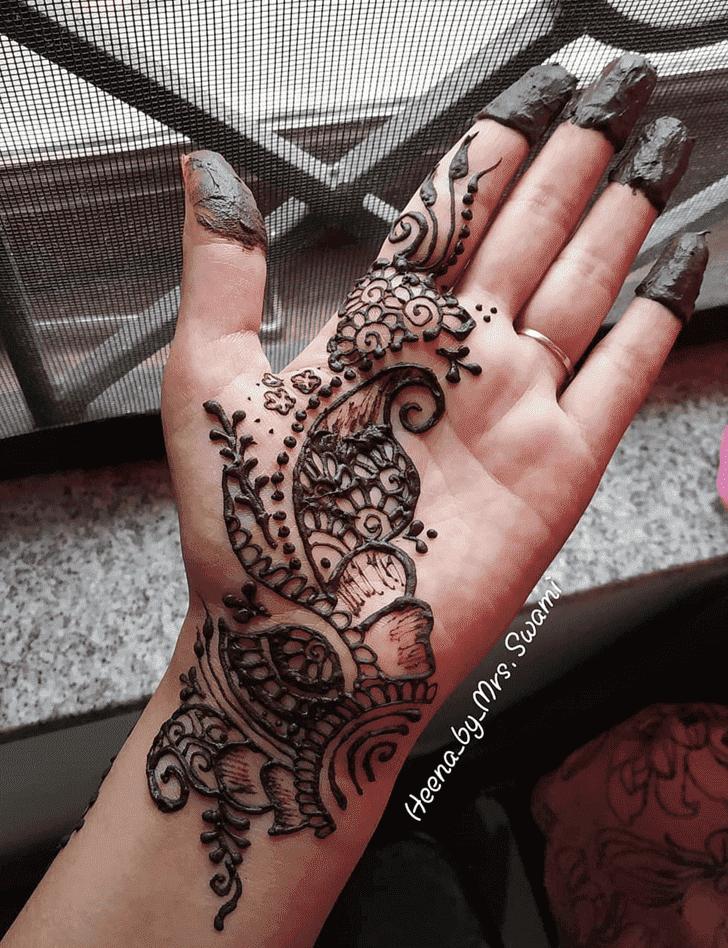 Excellent Ranchi Henna Design
