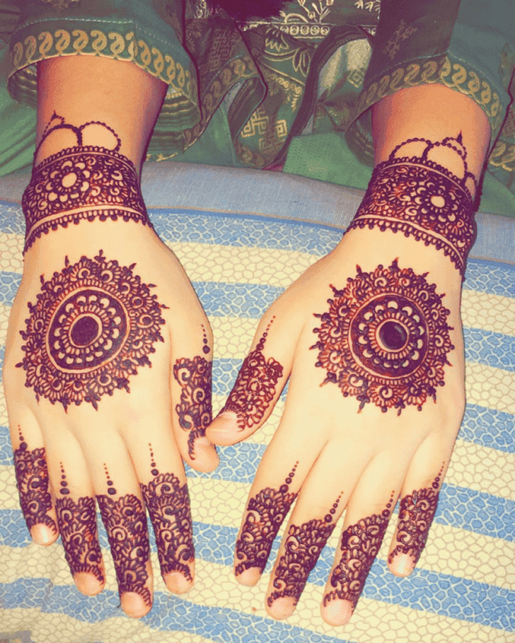Awesome Ranchi Henna Design