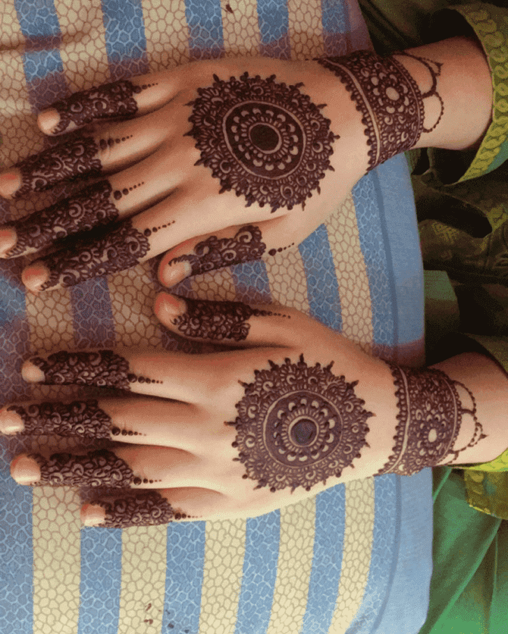 Inviting Ranchi Henna Design