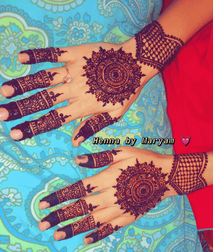 Magnetic Ranchi Henna Design