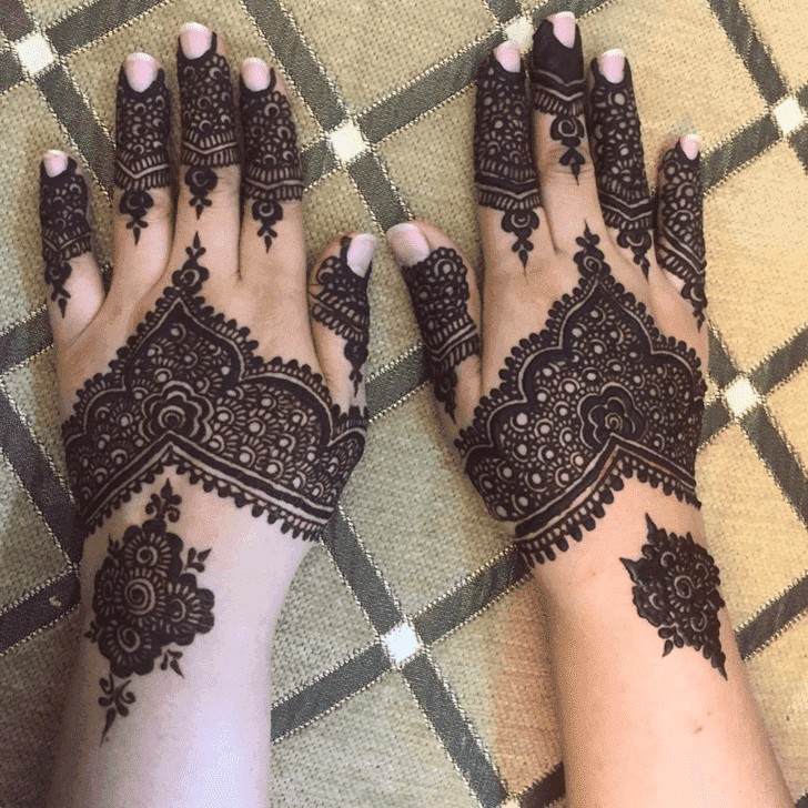 Magnificent Ranchi Henna Design