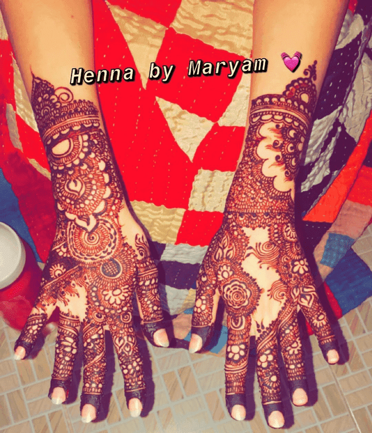 Pleasing Ranchi Henna Design