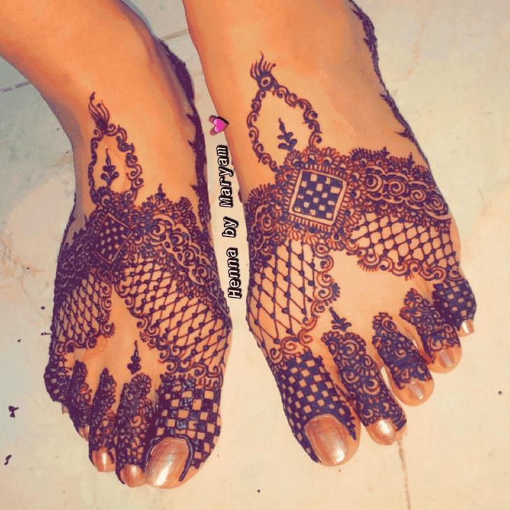 Refined Ranchi Henna Design