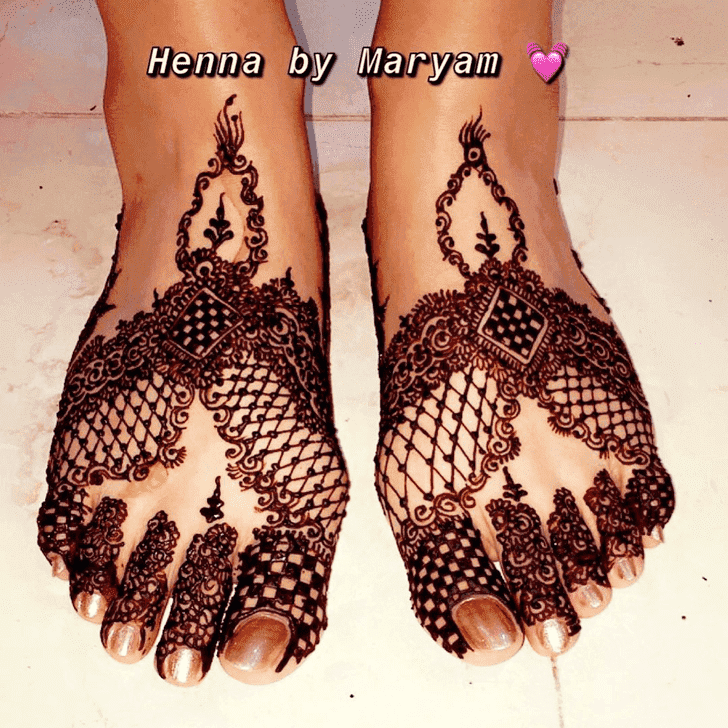 Slightly Ranchi Henna Design