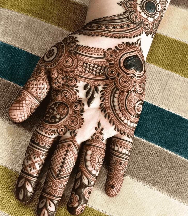 Adorable Rawalpindi Henna Design