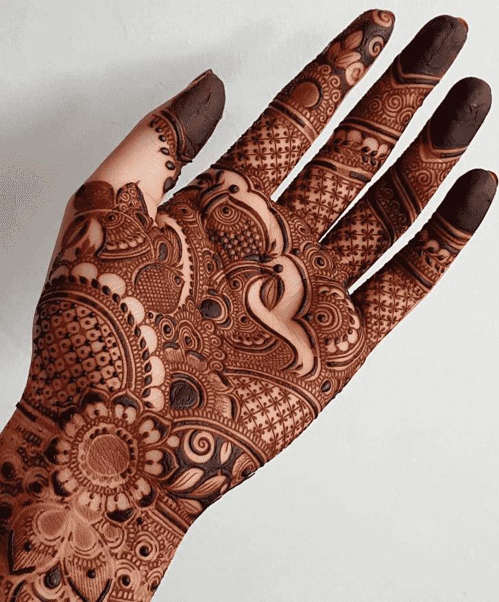 Alluring Rawalpindi Henna Design