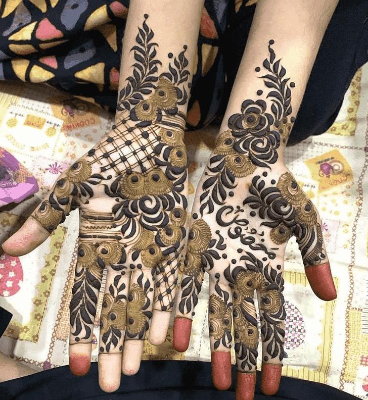 Charming Rawalpindi Henna Design