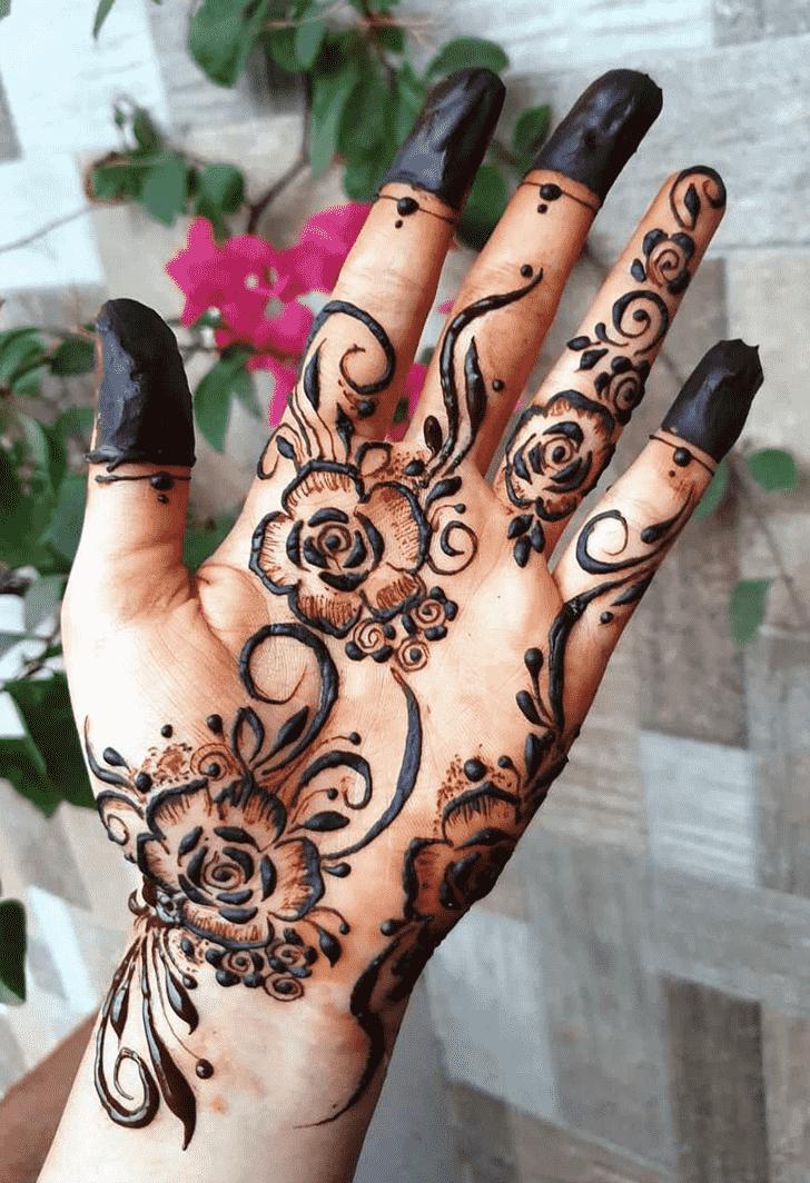 Enthralling Rawalpindi Henna Design