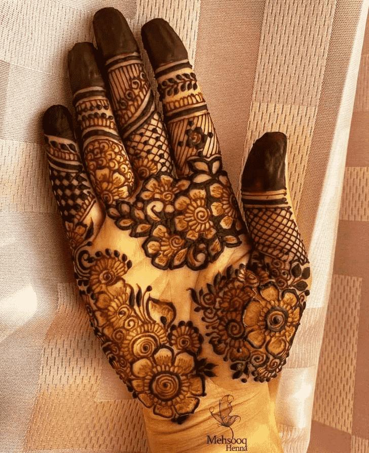 Fine Rawalpindi Henna Design