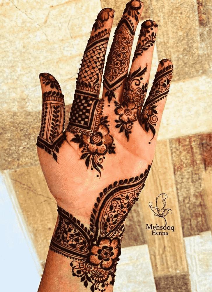 Awesome Rawalpindi Henna Design