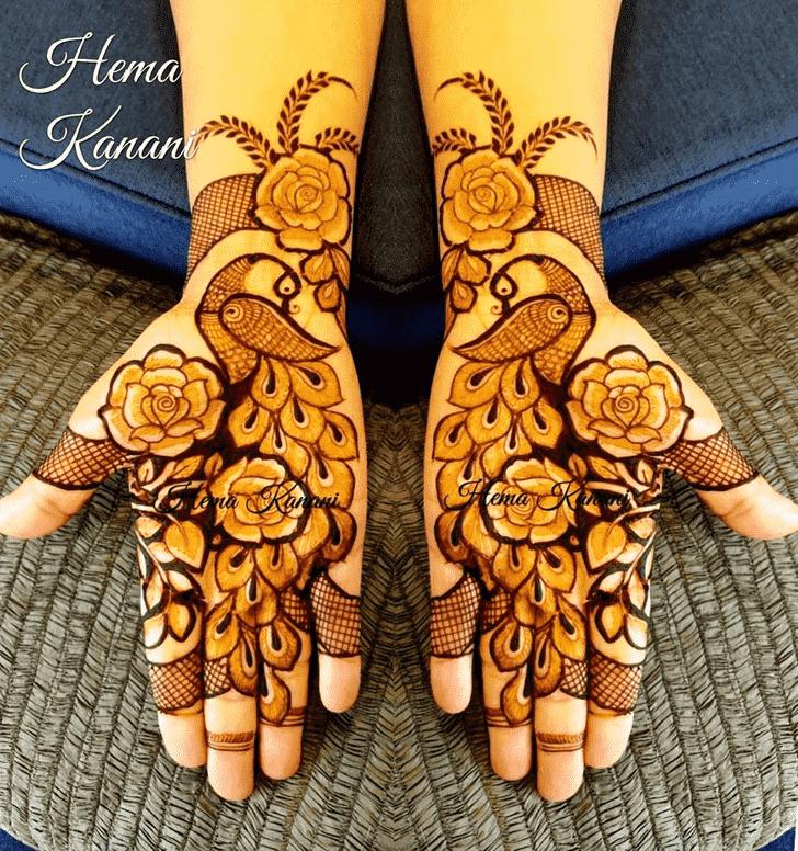 Magnetic Rawalpindi Henna Design