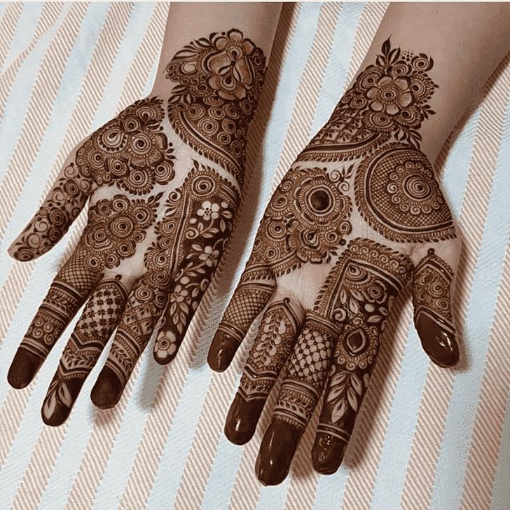 Ravishing Rawalpindi Henna Design