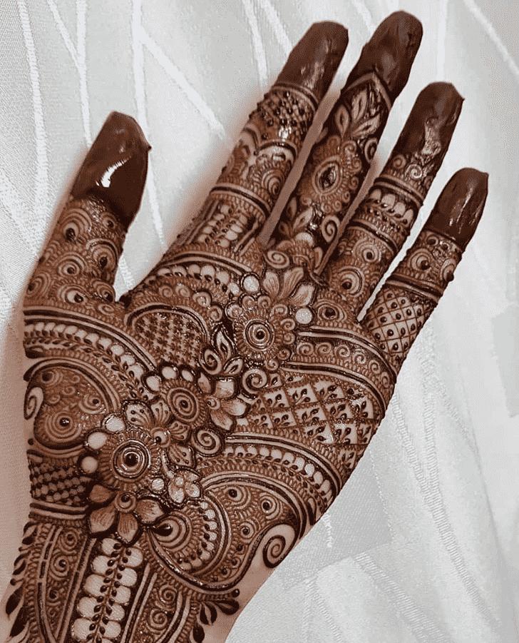 Slightly Rawalpindi Henna Design