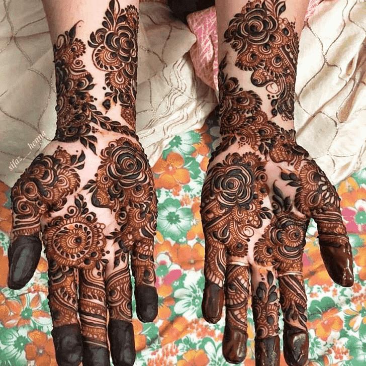 Superb Rawalpindi Henna Design