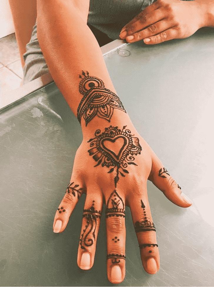 Classy Ring Henna Design