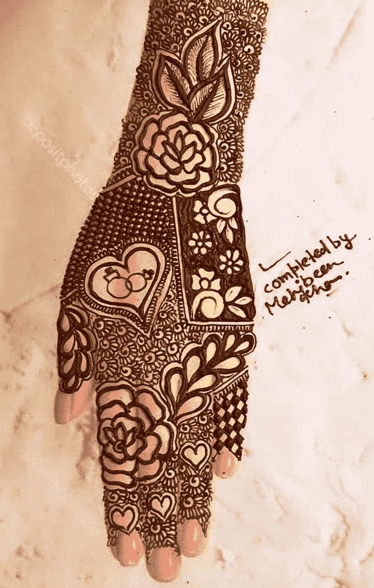 Lovely Ring Mehndi Design