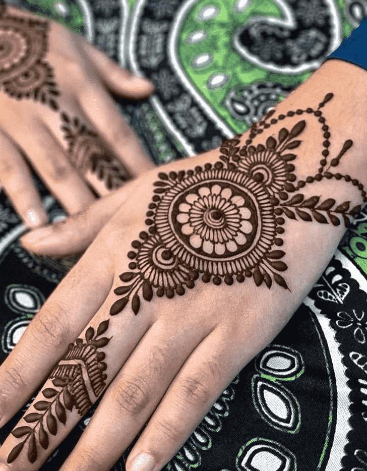 Alluring Rome Henna Design