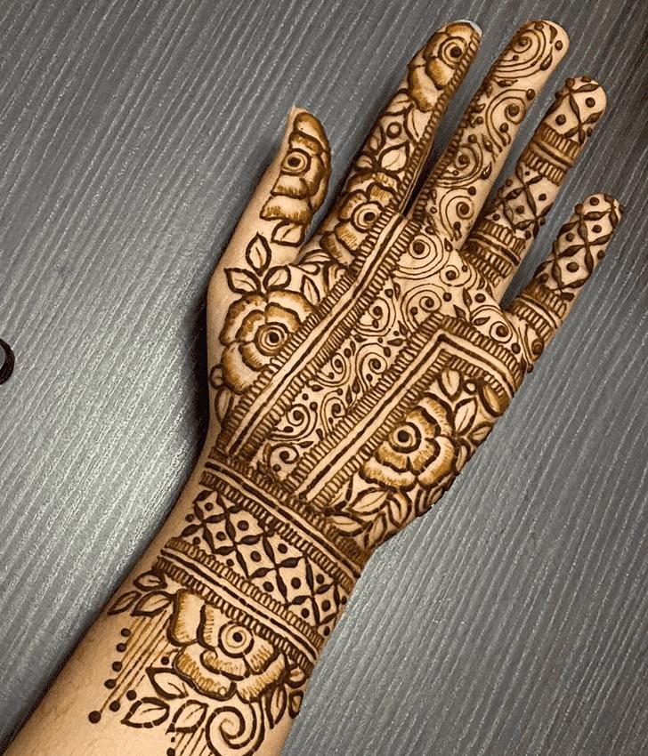 Lovely Roses Henna Design