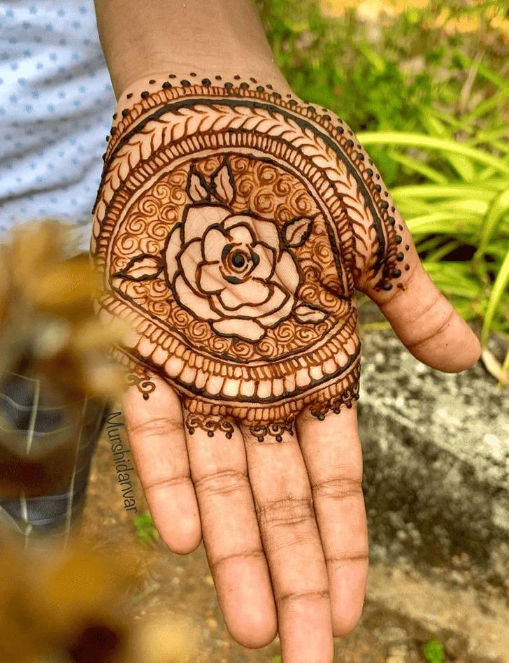 Shapely Roses Henna Design