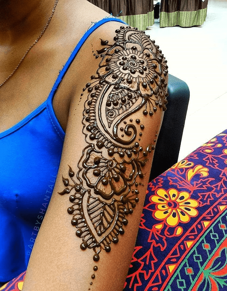 Admirable Royal Mehndi Design