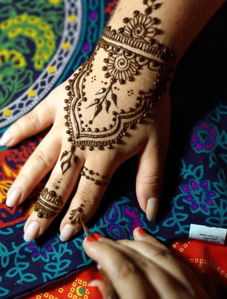 Beauteous Royal Henna Design