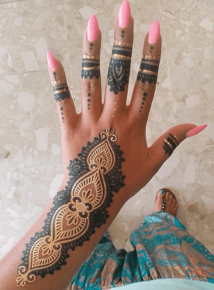 Classy Royal Henna Design