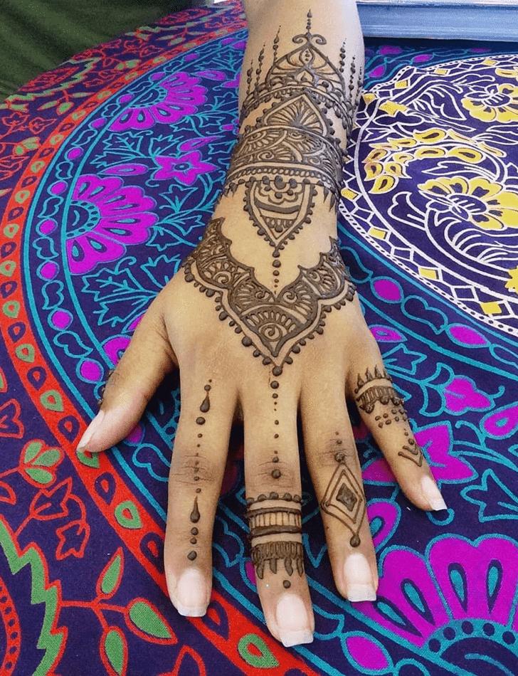 Delightful Royal Henna Design