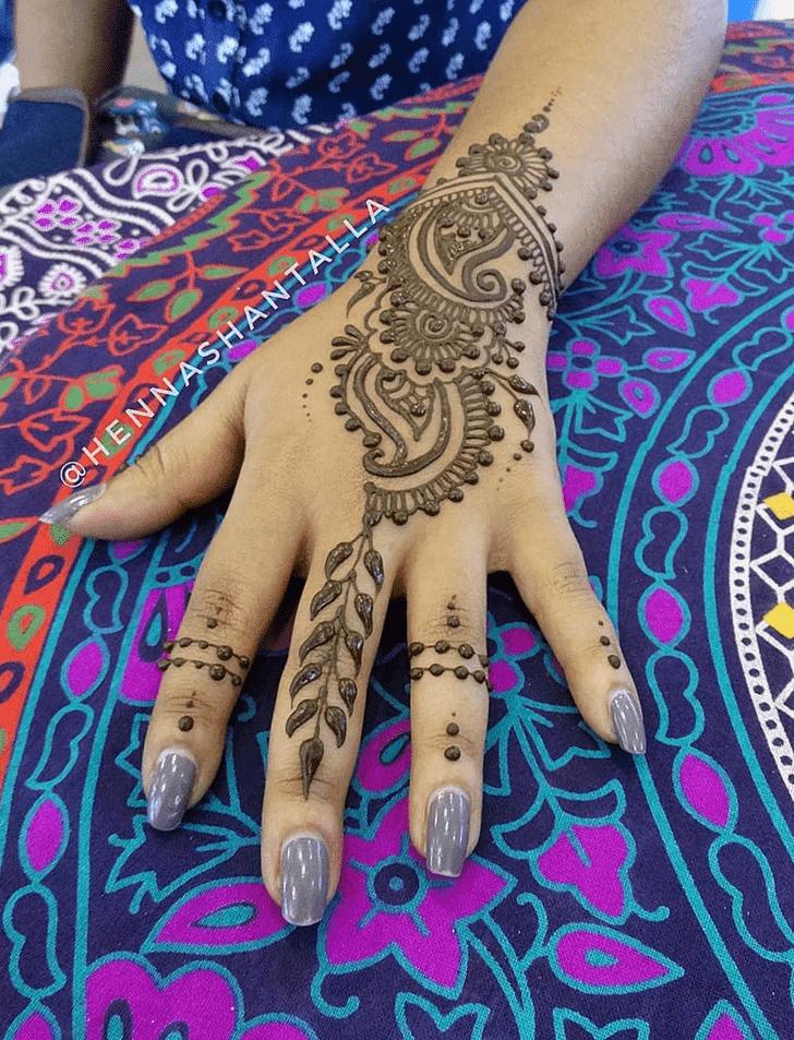 Divine Royal Henna Design