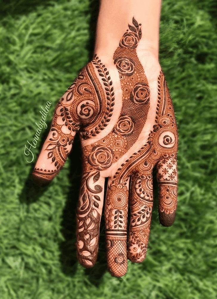 Magnificent Royal Henna Design
