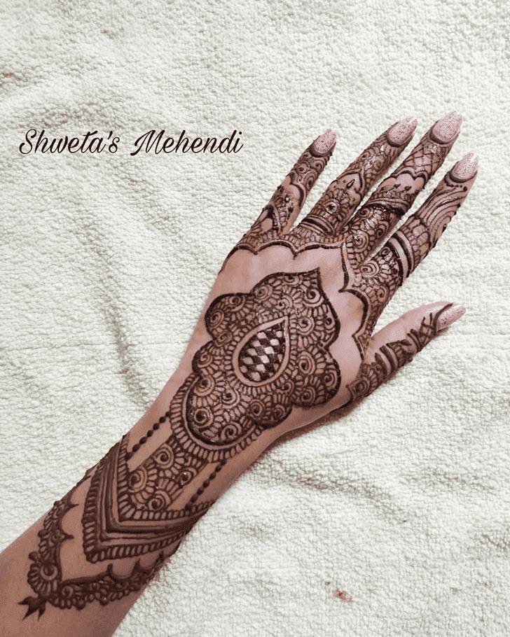 Nice Royal Henna Design
