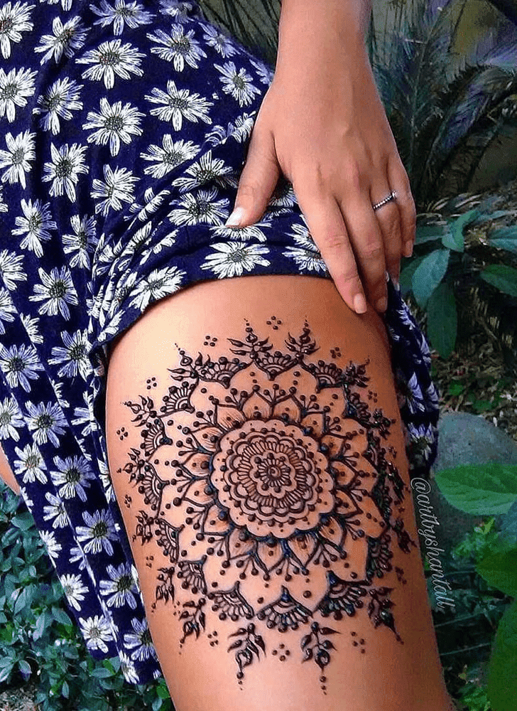 Stunning Royal Henna Design