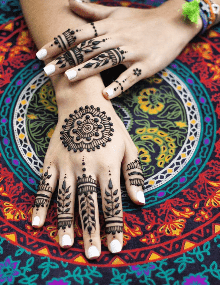 Superb Royal Henna Design