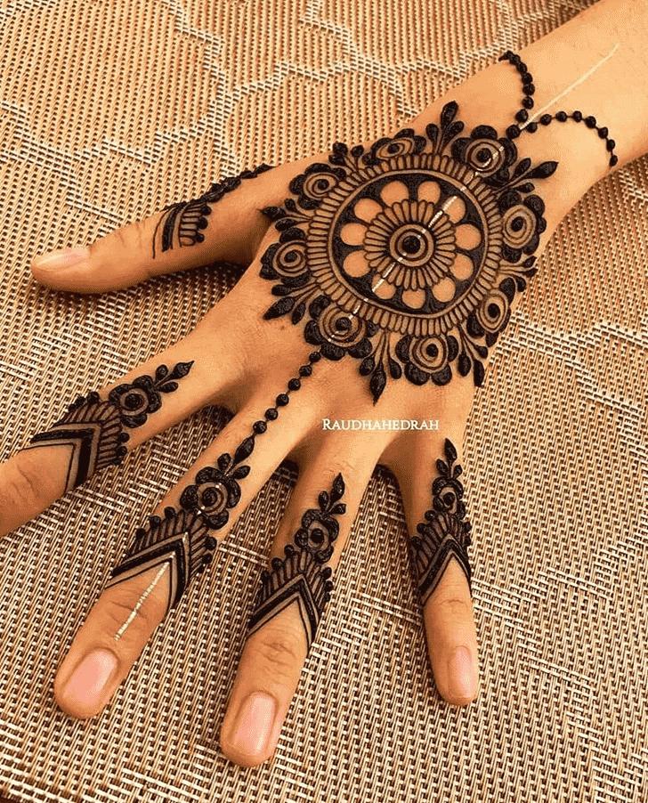 Bewitching San Diego Henna Design