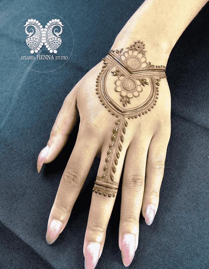 Charming San Diego Henna Design