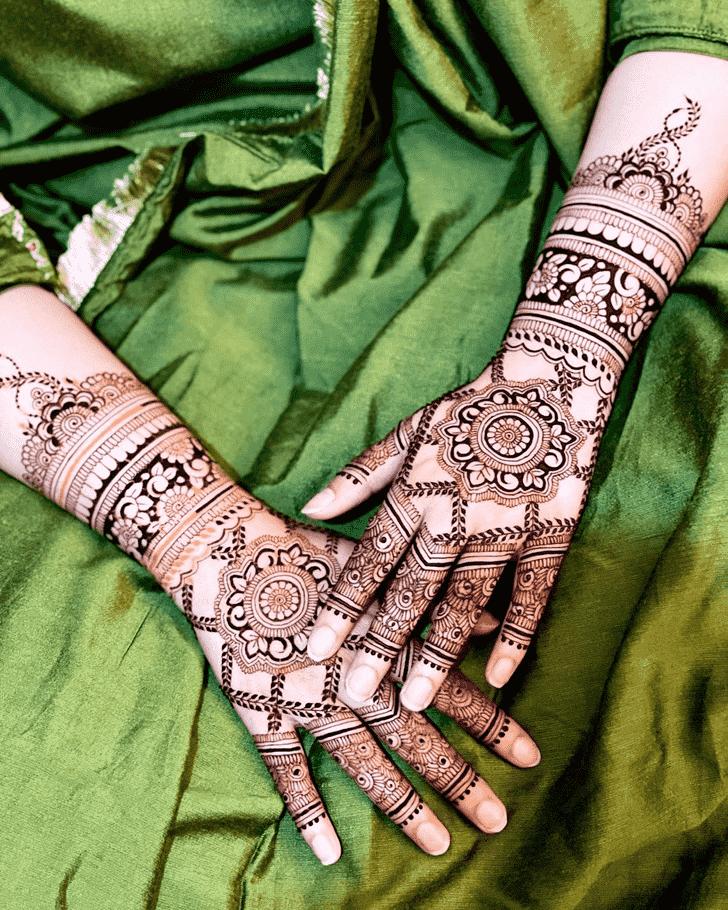 Angelic Sankranti Henna Design