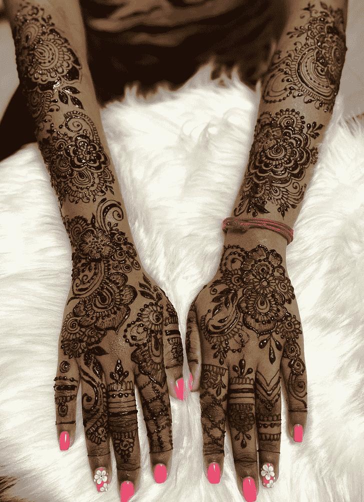 Appealing Sankranti Henna Design