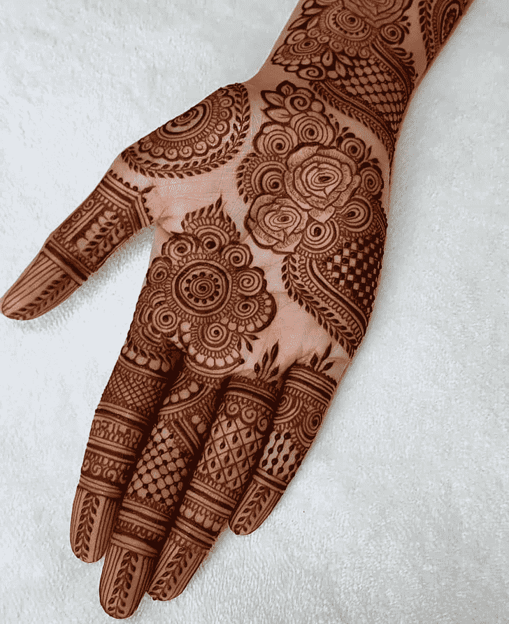 Beauteous Sankranti Henna Design
