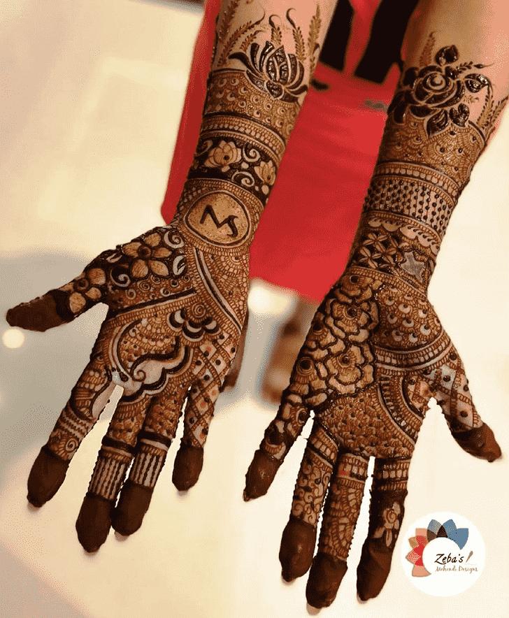 Charming Sankranti Henna Design