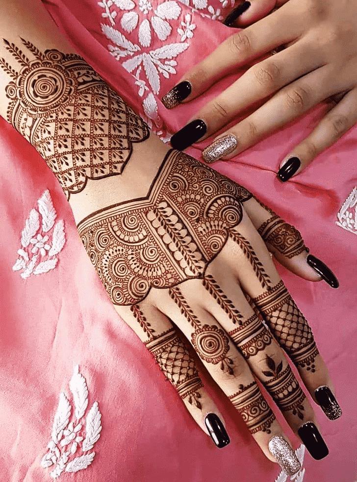 Classy Sankranti Henna Design