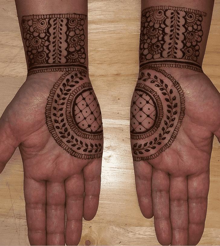 Marvelous Sargodha Henna Design