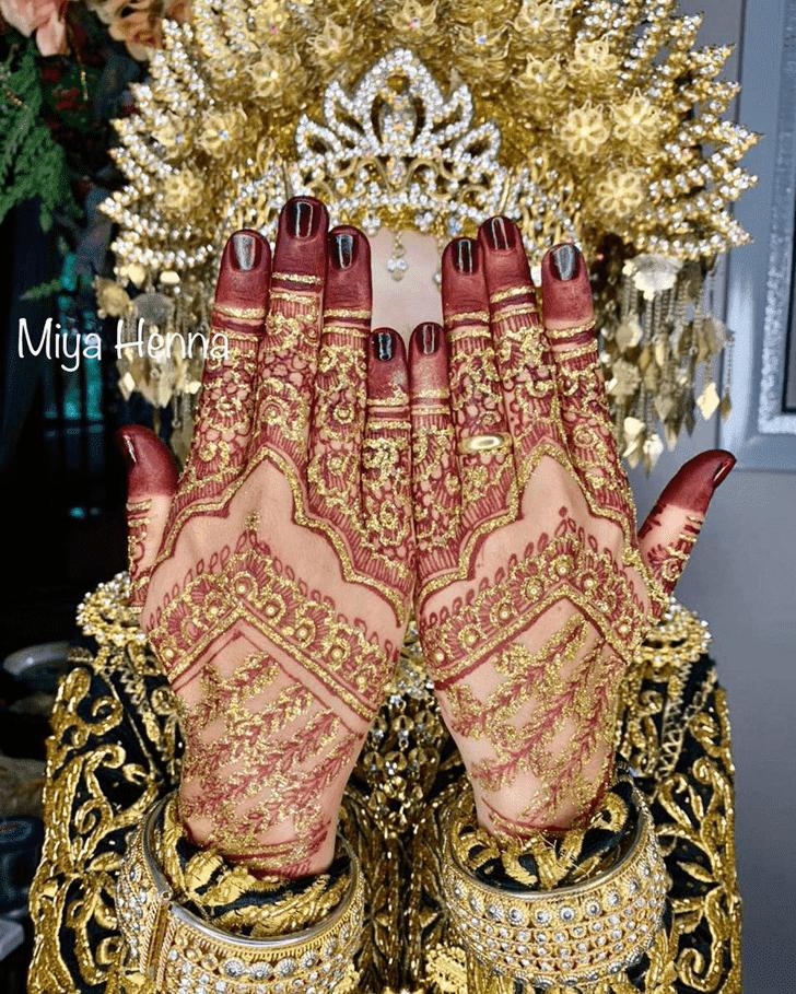 Wonderful Sargodha Mehndi Design
