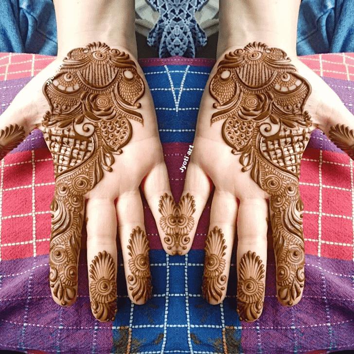 Alluring Seattle Henna Design